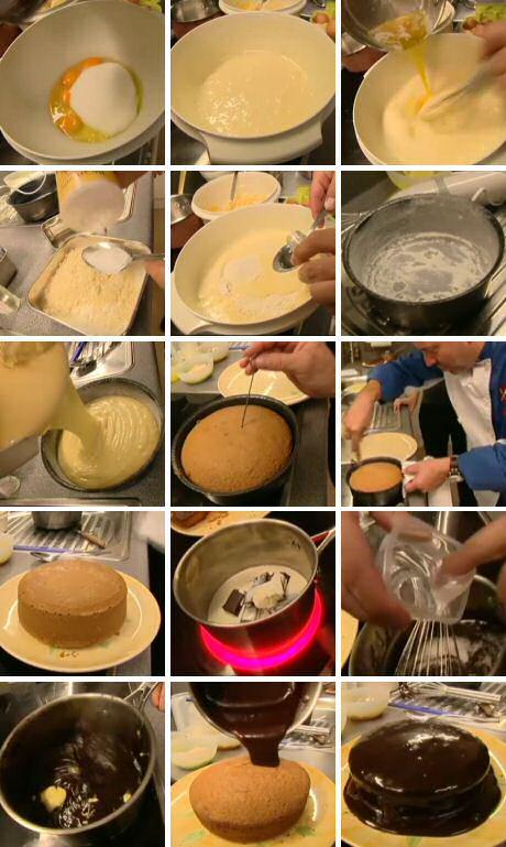 Stap vor stap recept om amandelcake te maken