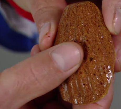 Caloriearme en suikervrije madeleines, gebakken met stevia uit SOS Piet