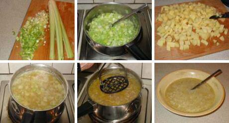 Stap voor stap preisoep recept volgens Piet Huysentruyt
